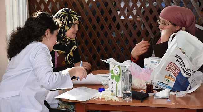 Köylerde sağlık taraması başladı - Bursa Haberleri