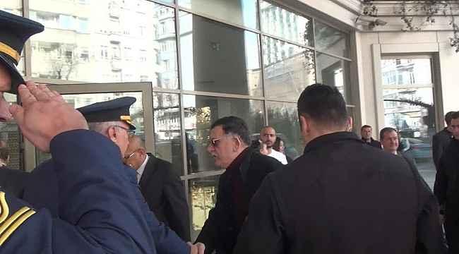 Libya Başbakanı Es-Sarrac Rusya dönüşü İstanbul'da mola verdi
