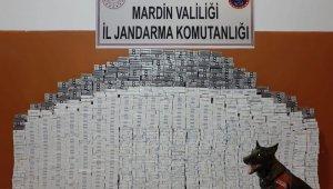 Mardin'de 8 bin 470 paket kaçak sigara ele geçirildi