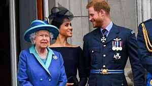 Meghan Markle ile Prens Harry ilk kez konuştu