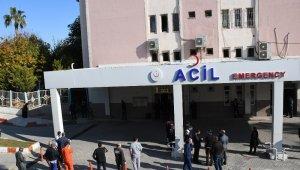 Mersin Devlet Hastanesinde patlama... Çok sayıda yaralı var