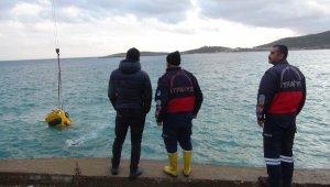 Mersin'de otomobil denize düştü: 1 ölü
