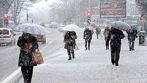Meteoroloji'den birçok il için kritik uyarı: Sağanak yağmur ve kar yağışı geliyor
