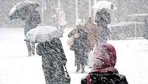 Meteoroloji'den son dakika kar yağışı açıklaması