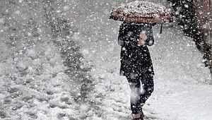 Meteoroloji, İç Anadolu, Karadeniz ve Doğu Anadolu için kar yağışı uyarısı yaptı