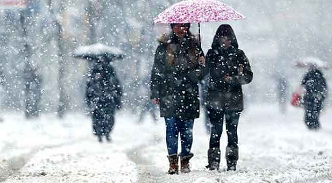 Meteorolojiden çok sayıda il için kar yağışı uyarısı!