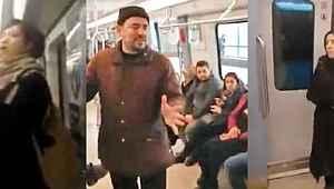 Metroda FETÖ propagandası yapan 4 kişi yakalandı