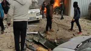 """MSB: """"Suriye rejimi tarafından İdlib'e hava saldırısı 8 sivil hayatını kaybetti"""""""