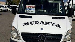 Mudanya minibüslerinin güzergahı değişti - Bursa Haberleri