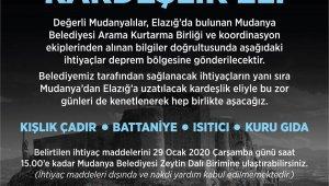 Mudanya'dan Elazığ'a kardeşlik eli - Bursa Haberleri