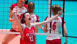 """Olimpiyat Elemeleri'nin """"En Değerli Oyuncusu"""" Meryem Boz"""