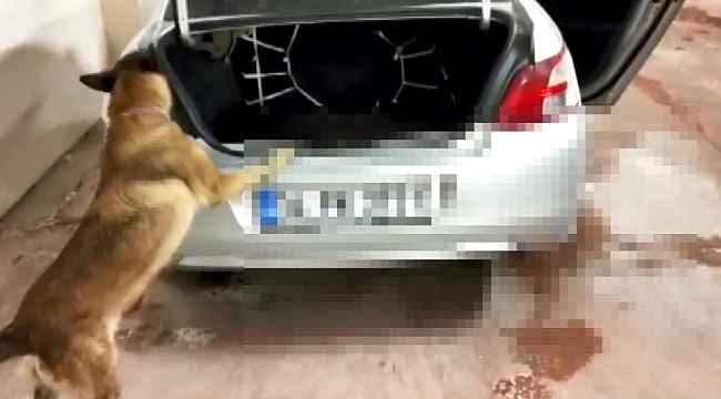 Otomobilden 16 kilo uyuşturucu çıktı - Bursa Haberleri