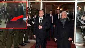 Putin'in, Filistinli ziyaretinde dikkat çeken detay