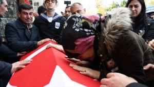 Şehit Astsubay Sinan Köse, son yolculuğuna uğurlandı