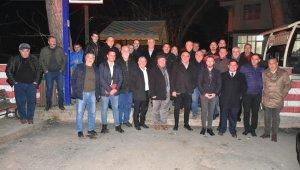 Sertaslan'dan köy ziyaretleri - Bursa Haberleri