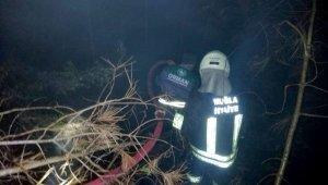 Seydikemer'de orman yangını: 2 dönüm alan yandı