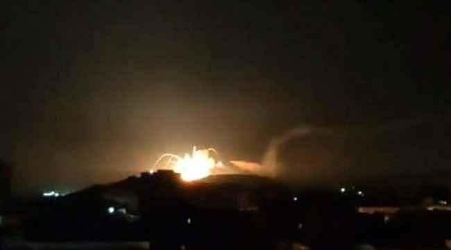 Suriye'nin doğusundaki T-4 askeri hava üssüne füzeli saldırı