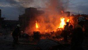 Suriye'deki saldırılarda ölü sayısı 8'e yükseldi