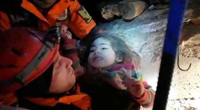 Türkiye'nin sevindiren haber: 2,5 yaşındaki kız çocuğunun 24 saat sonra mucize kurtuluşu!