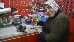 Türkiye'nin ilk ruhsatlı kadın çilingiri 30 yıldır müşterilerini şaşırtıyor