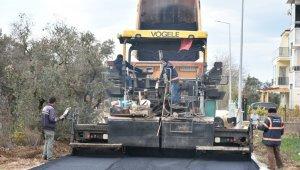Umurbey'de beş sokağa asfalt - Bursa Haberleri