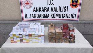 Yolcuların valizinden 660 paket kaçak sigara ve 290 paket pipo tütünü çıktı