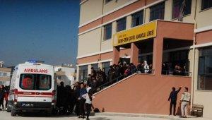 17 öğrenci böcek ilacından etkilenerek hastaneye kaldırıldı