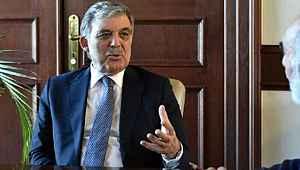 Abdullah Gül, başkanlık sistemini eleştirdi,