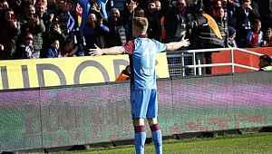 Alexander Sörloth, Trabzonspor taraftarını mest etti