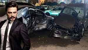 Alkollü araç kullanan Ahmet Kural kaza yaptı, ehliyetine el konuldu