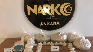 Ankara'da bir haftalık narkotik bilançosu