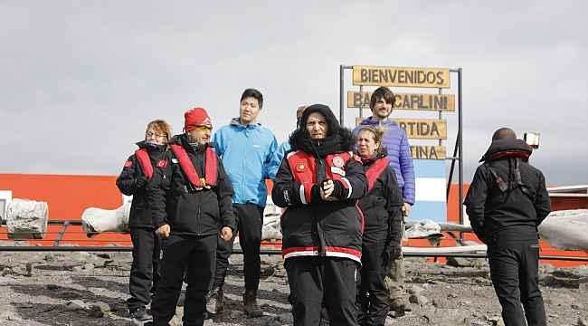Antarktika'da Antep fıstığı, kırmızıbiber ve üzüm ile ısındı