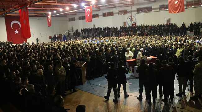 Bitlisli İdlib şehidi son yolculuğuna uğurlandı