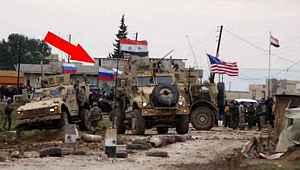 Bu fotoğraf, ABD'nin rejim güçlerini vurduğu bölgeden geldi