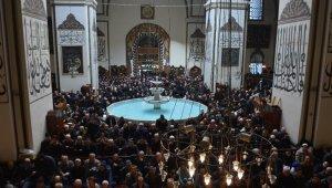 Bursa Ulu Cami'de Regaip Kandili programı - Bursa Haberleri