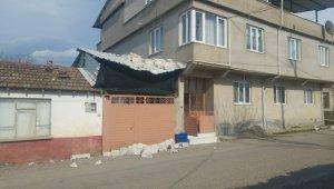 Bursa'da lodos evin duvarlarını yıktı - Bursa Haberleri
