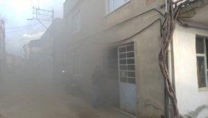 Bursa'da mobilya atölyesinde yangın - Bursa Haberleri