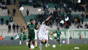 Bursaspor-Altay maçında davetsiz misafir - Bursa Haberleri