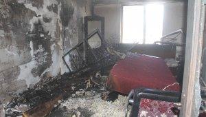Çocuk oynarken evi yaktı: 4 kişi hastaneye kaldırıldı