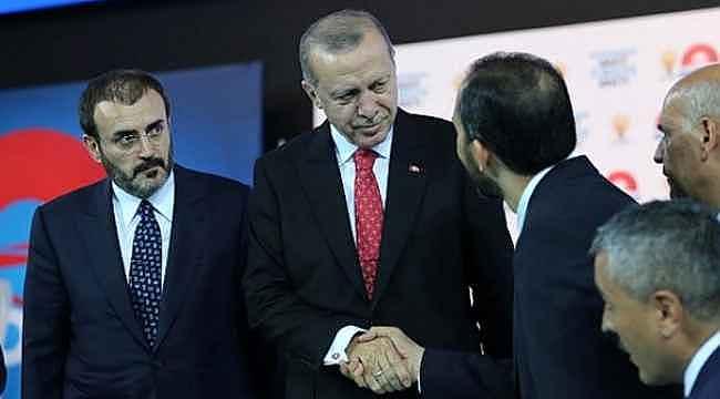 Cumhurbaşkanı Erdoğan'dan milletvekillerini