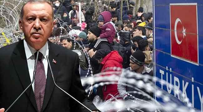 Cumhurbaşkanı Erdoğan 'Kapıları açık tutacağız' deyip, sınırı geçen göçmen sayısını açıkladı!