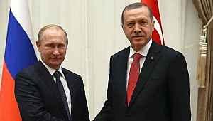 Cumhurbaşkanı Erdoğan, Putin'le telefonla görüştü