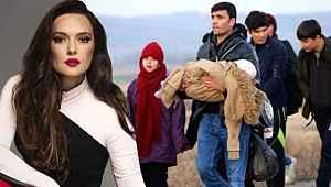 Demet Akalın'dan mültecilerin sınıra gitmesine yorum