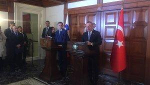"""Dışişleri Bakanı Çavuşoğlu: """"Ben böylesine dürüst olmayan bir siyasetçiyle çalışmadım"""""""