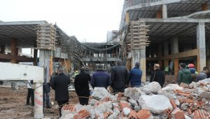 Diyarbakır'da inşaatta göçük: 2 işçi yaralandı