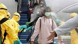 Dünya bu görüntüyü konuşuyor! Çin'den gelen vatandaşarlara nasıl bir uygulamada bulundular!