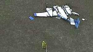 Dünyayı sallayan kaza... İki uçak havada çarpıştı, ölenler var