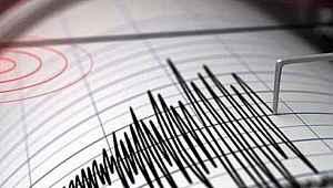 Elazığ'da 4,6 büyüklüğünde deprem