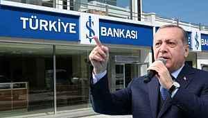 Erdoğan, CHP'nin İş Bankası hisseleriyle ilgili talimat verdi
