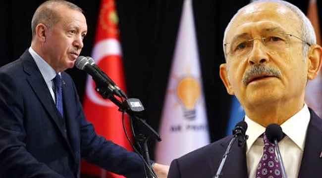 Erdoğan'dan Kılıçdaroğlu'nun